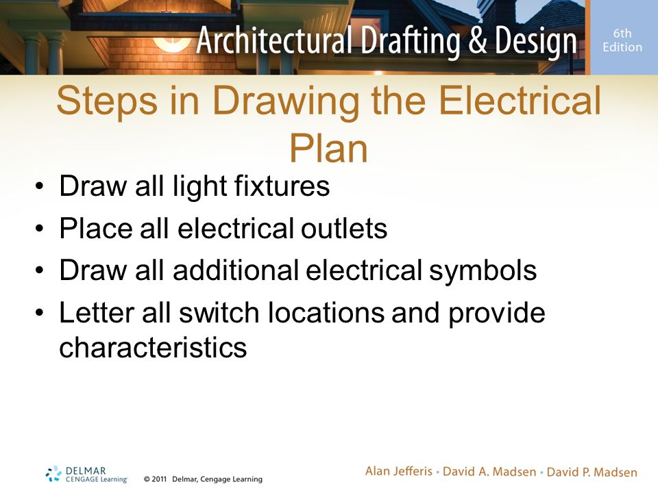 Steps in Drawing the Electrical Plan