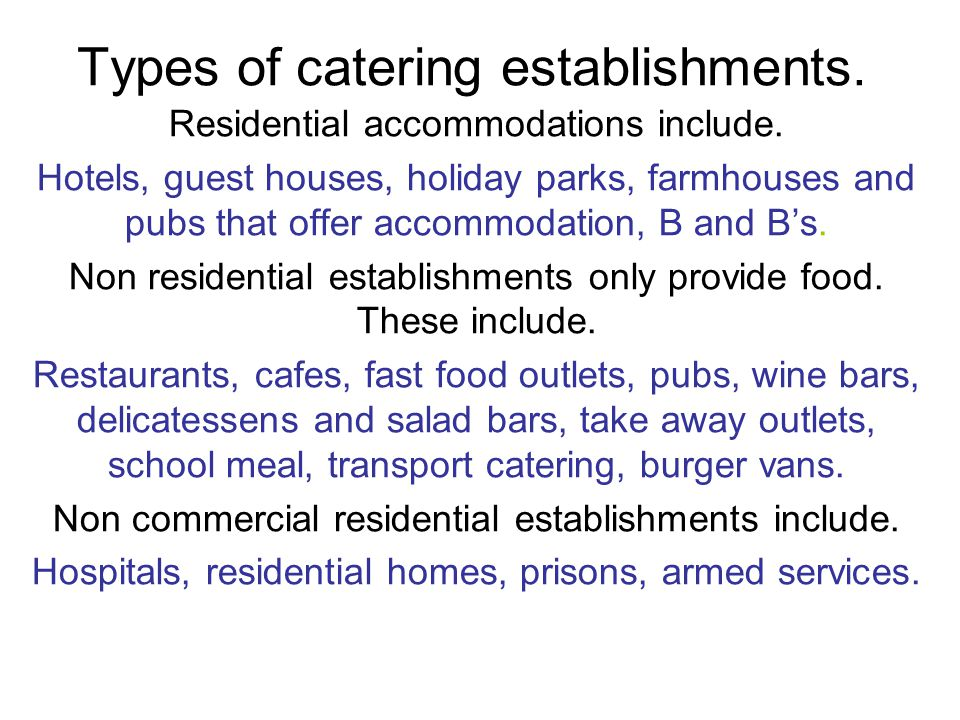 Classification of Tourist Hotels