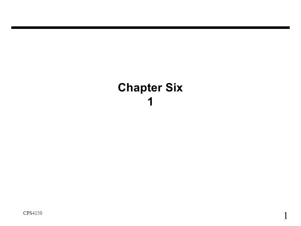 Chapter Six 1