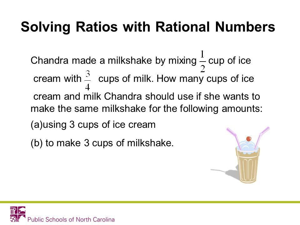 Solving Ratios with Rational Numbers