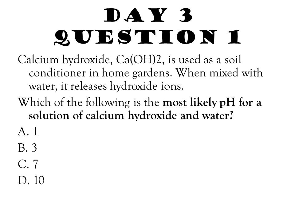 Day 3 Question 1