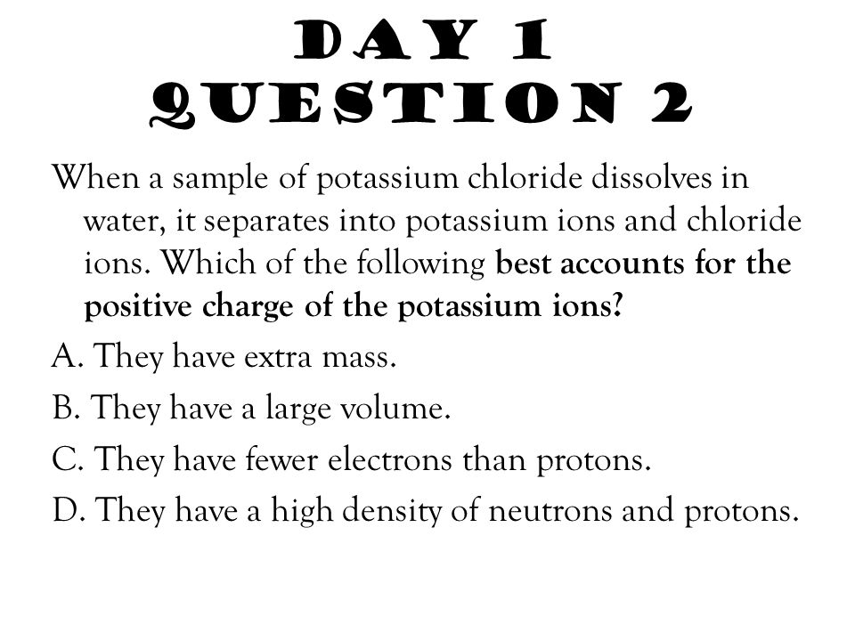 Day 1 Question 2