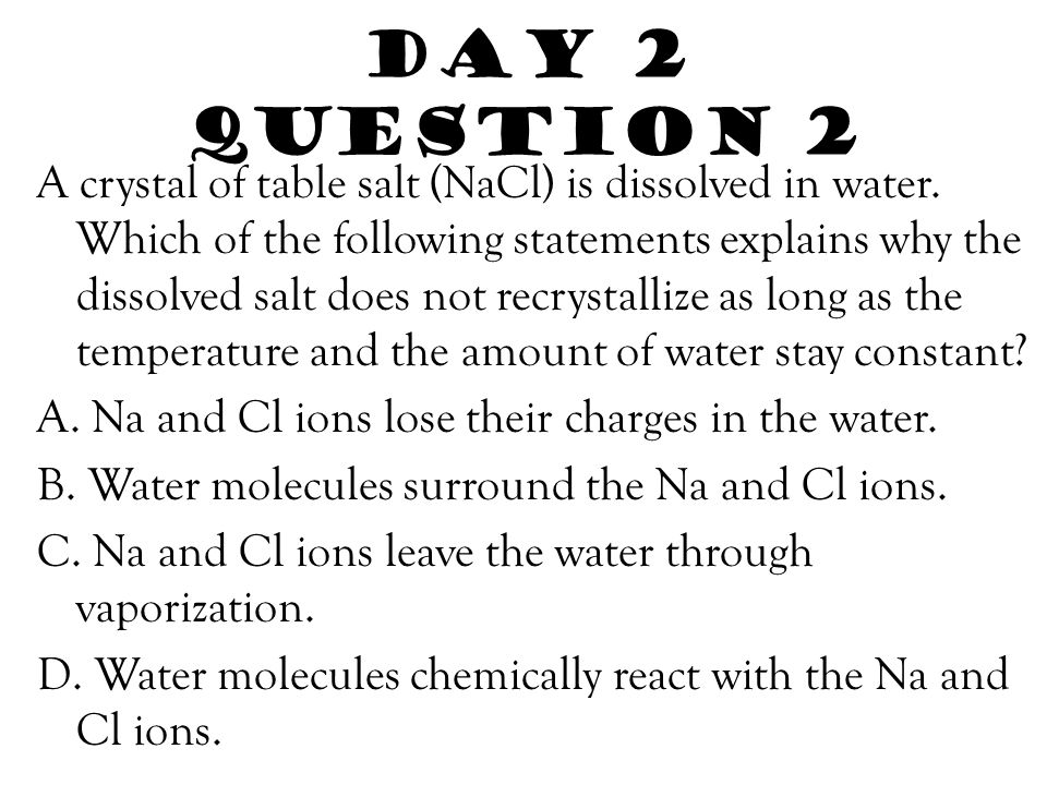 Day 2 Question 2