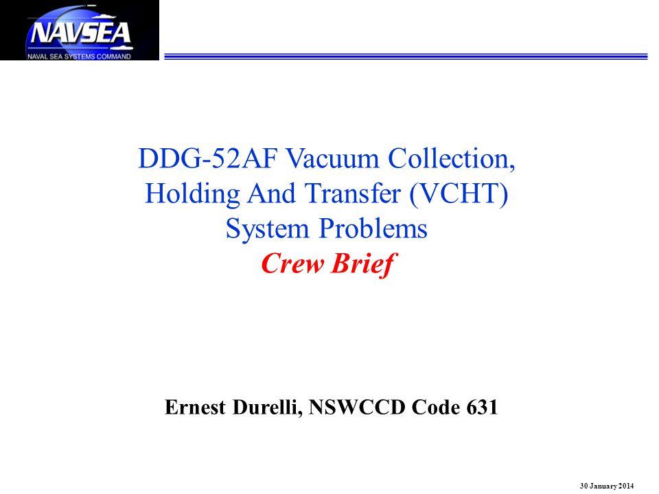 Ernest Durelli, NSWCCD Code 631