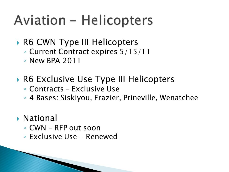 Aviation - Helicopters