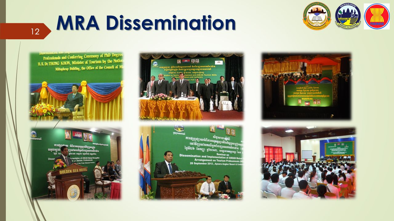 MRA Dissemination