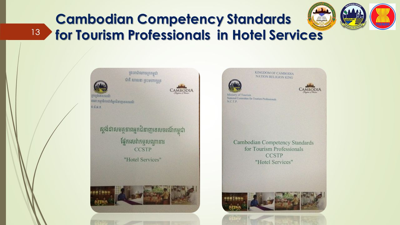 Cambodian Competency Standards for Tourism Professionals in Hotel Services