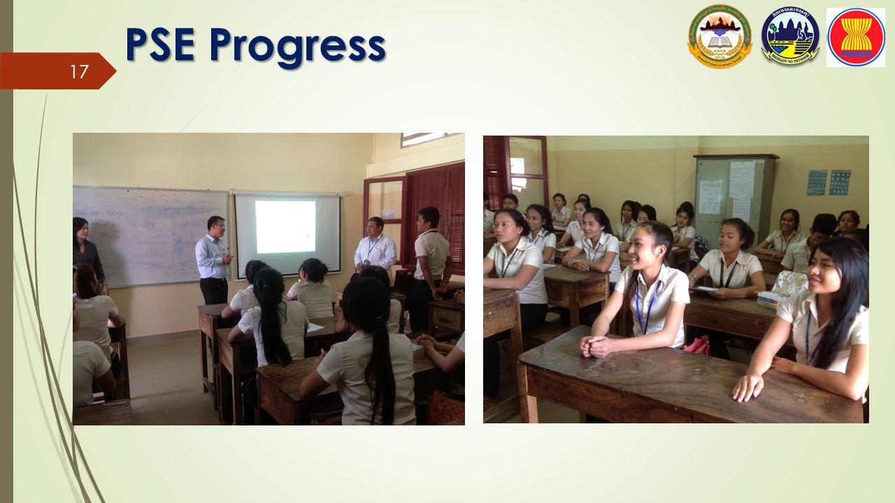 PSE Progress