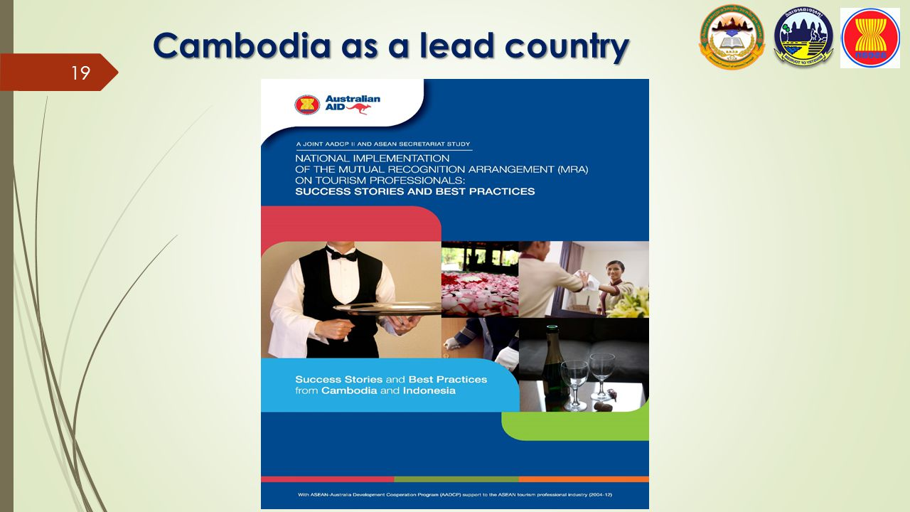 Cambodia as a lead country