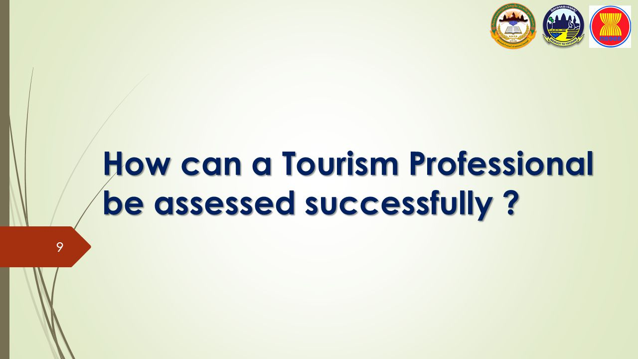 How can a Tourism Professional be assessed successfully