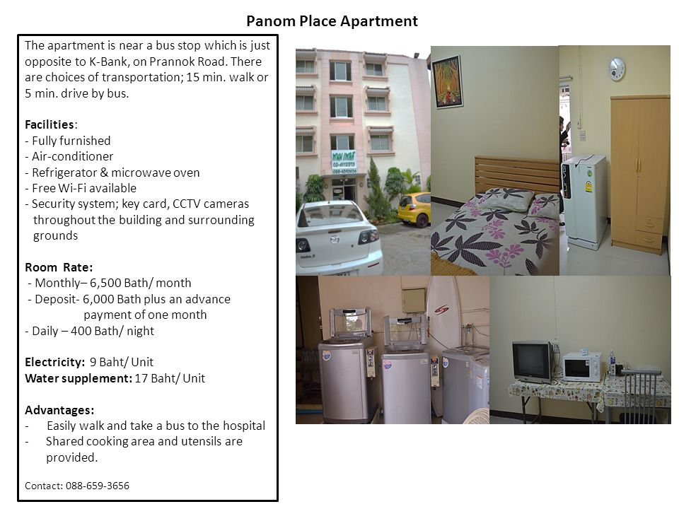 Panom Place Apartment