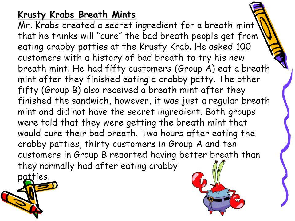 Krusty Krabs Breath Mints