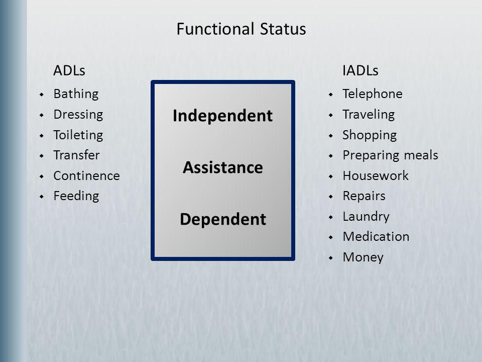 Independent Assistance Dependent