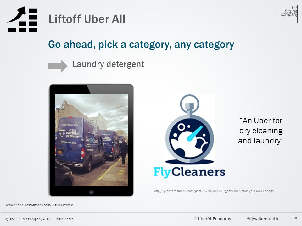 An Uber for dry cleaning and laundry