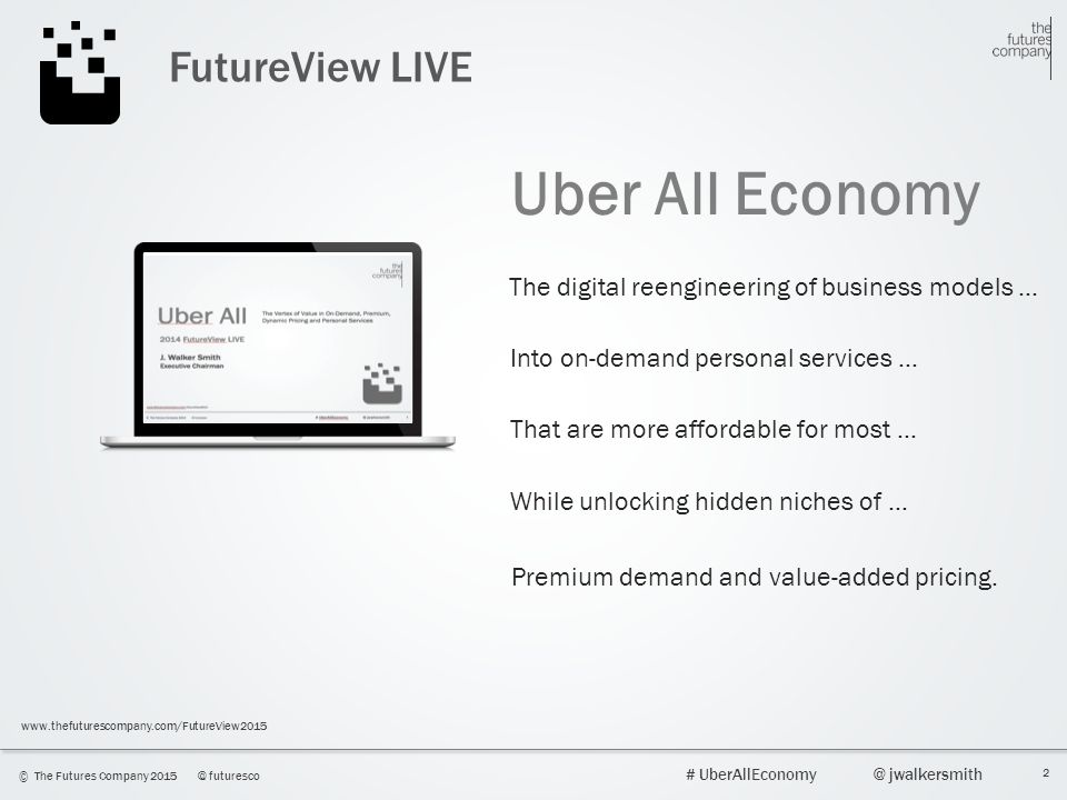 Uber All Economy FutureView LIVE