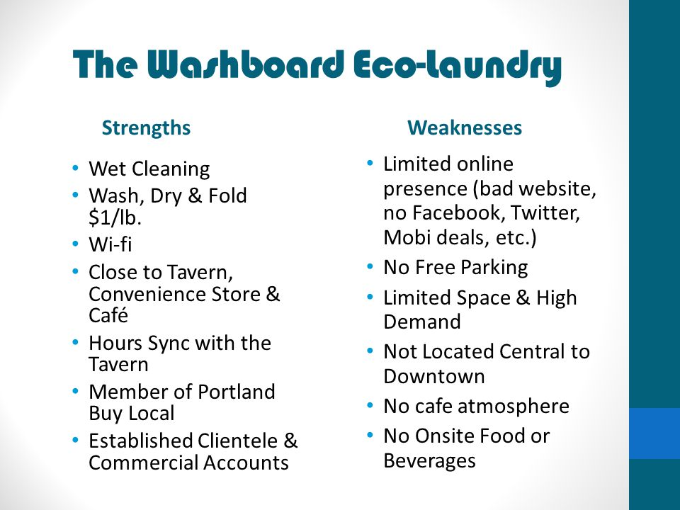 The Washboard Eco-Laundry