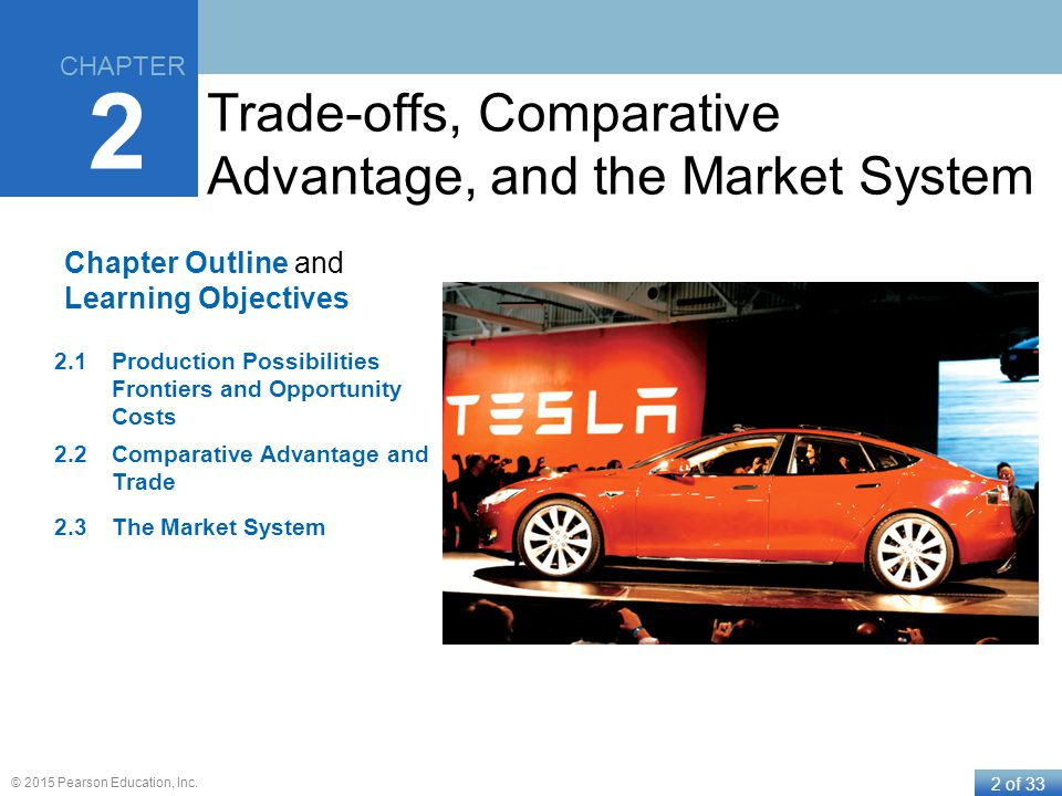 Trade-offs, Comparative Advantage, and the Market System