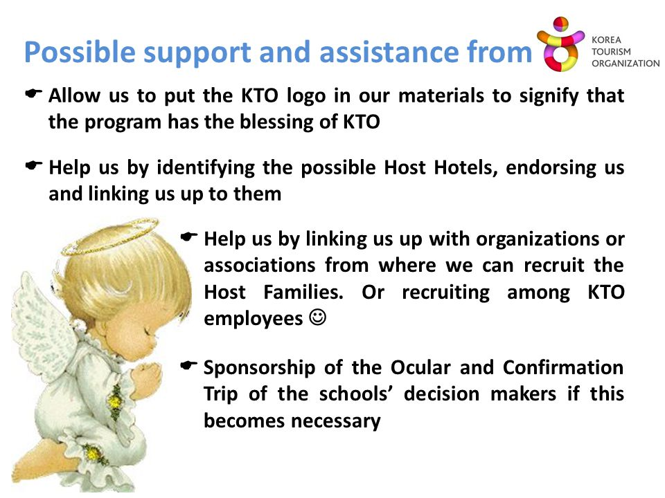 Possible support and assistance from