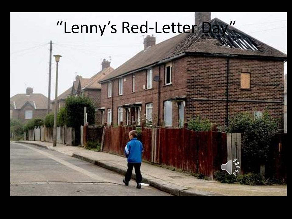 Lenny's Red-Letter Day