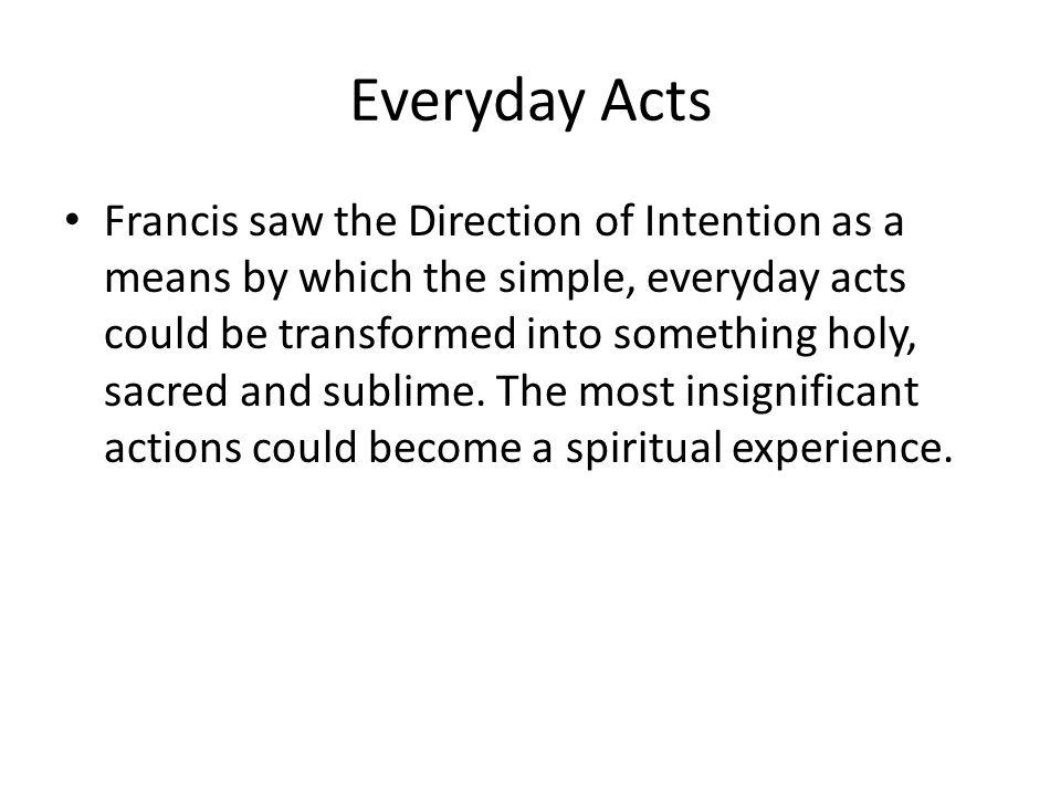 Everyday Acts
