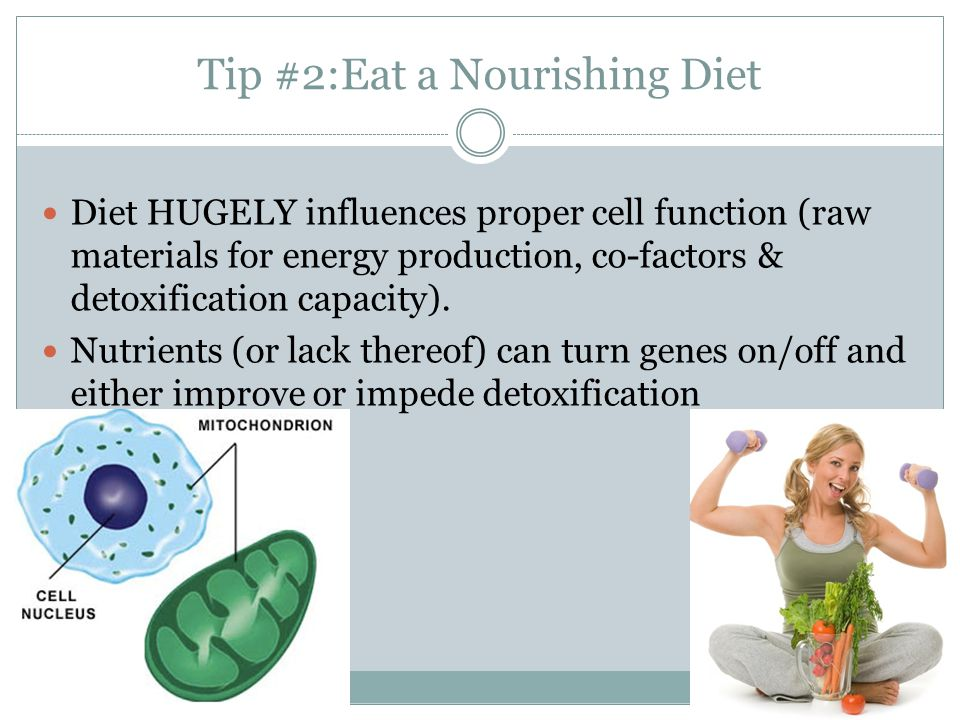 Tip #2:Eat a Nourishing Diet