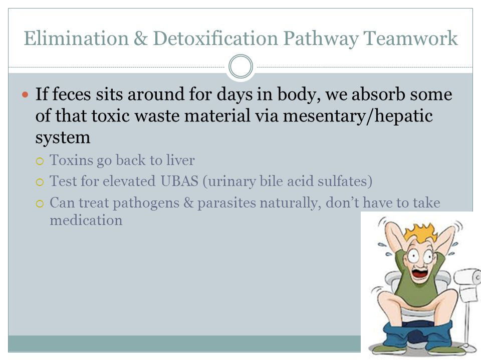 Elimination & Detoxification Pathway Teamwork