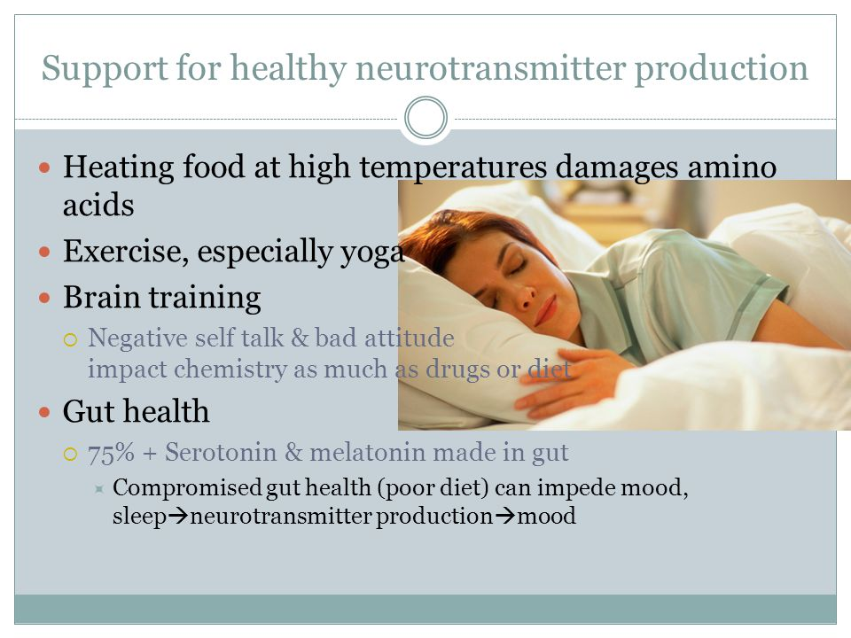 Support for healthy neurotransmitter production