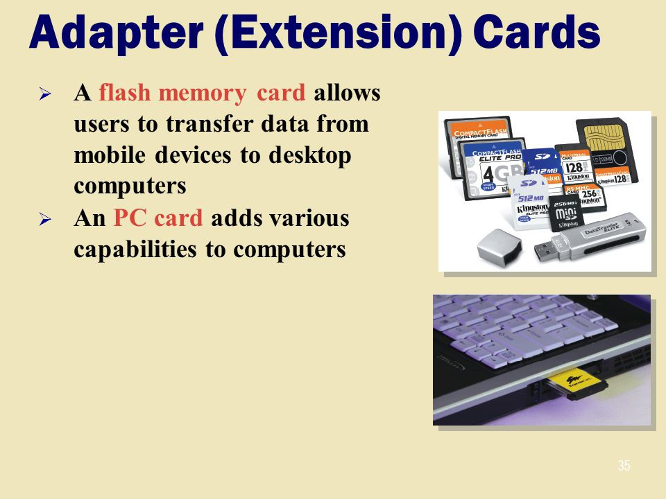 Adapter (Extension) Cards