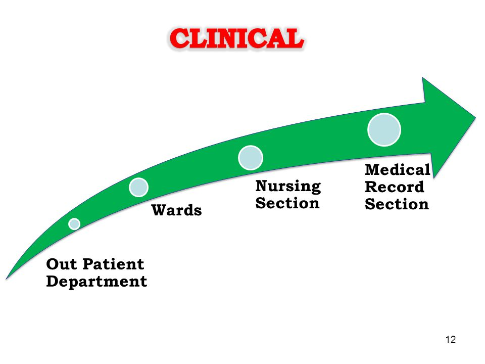 CLINICAL Medical Record Section Nursing Section Wards