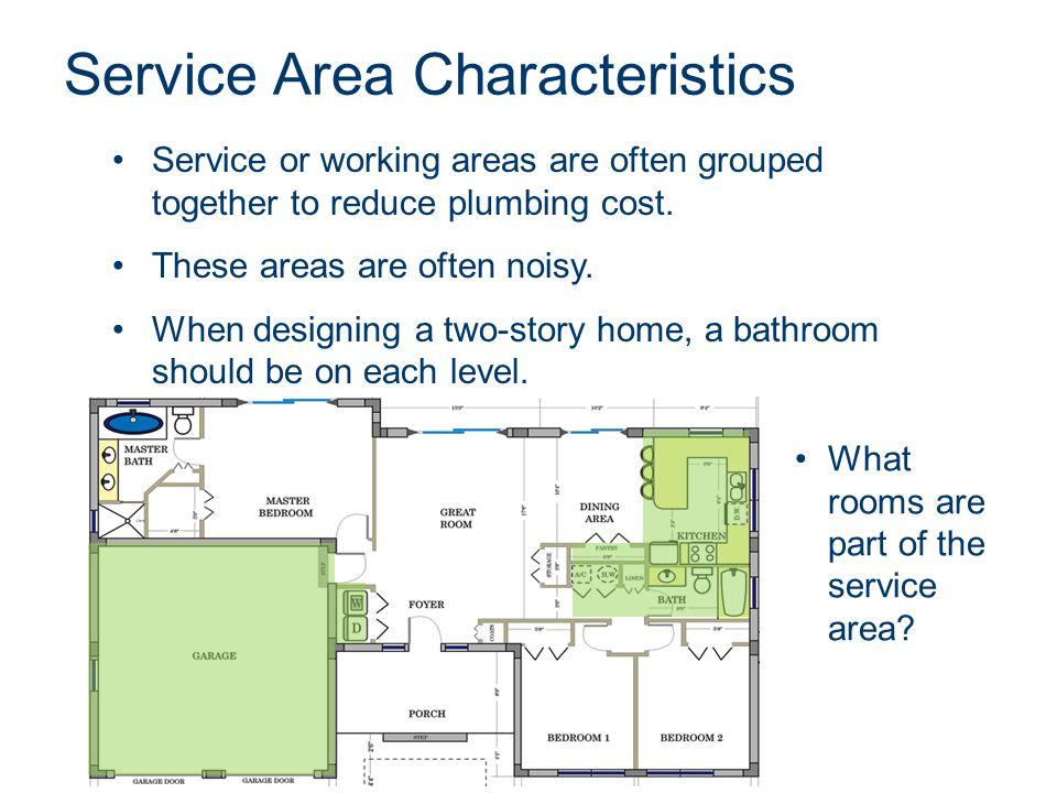Service Area Characteristics