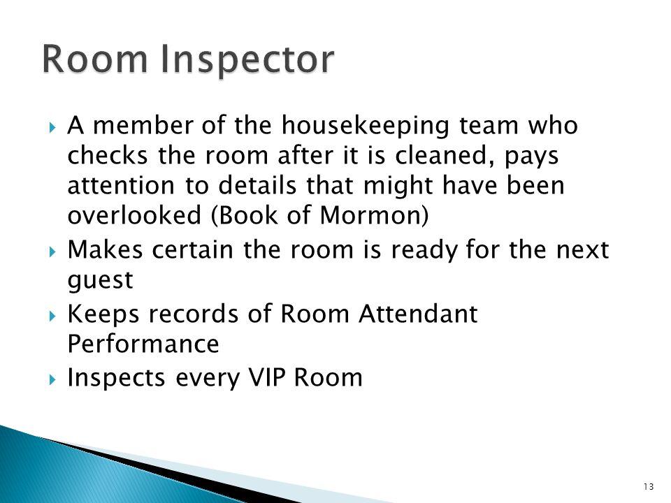 Room Inspector