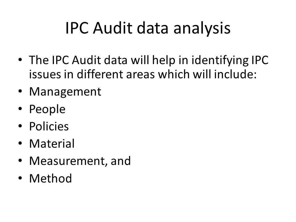 IPC Audit data analysis