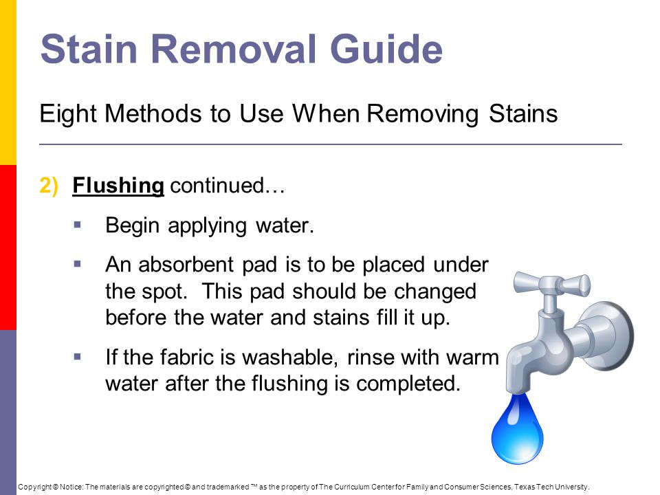Stain Removal Guide Eight Methods to Use When Removing Stains