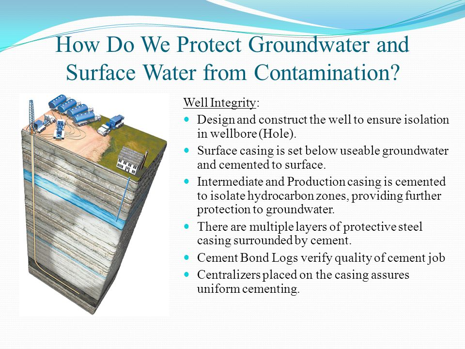 How Do We Protect Groundwater and Surface Water from Contamination