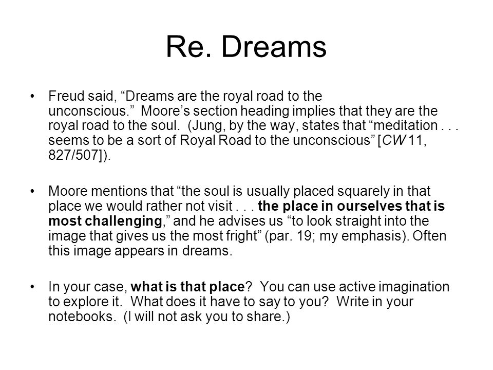 Re. Dreams