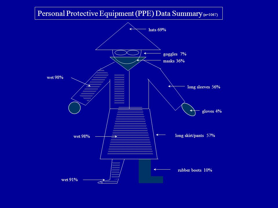 Personal Protective Equipment (PPE) Data Summary (n=1067)