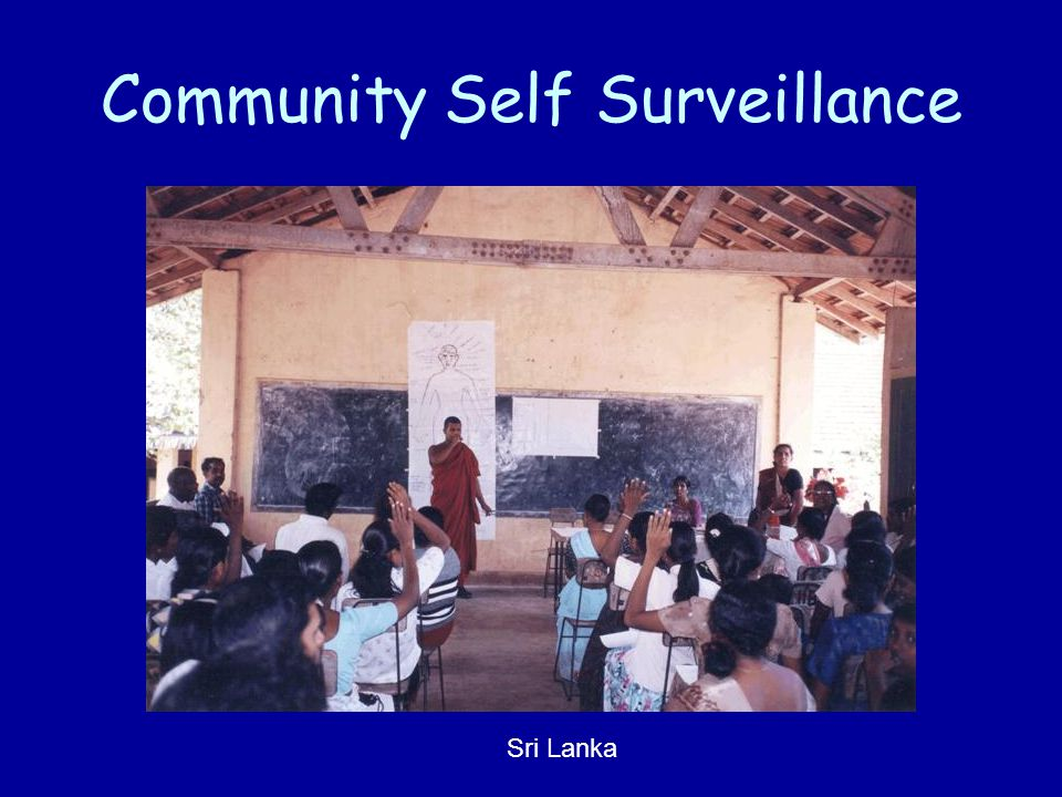 Community Self Surveillance