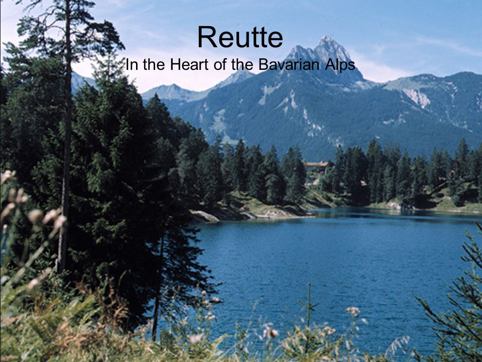 In the Heart of the Bavarian Alps