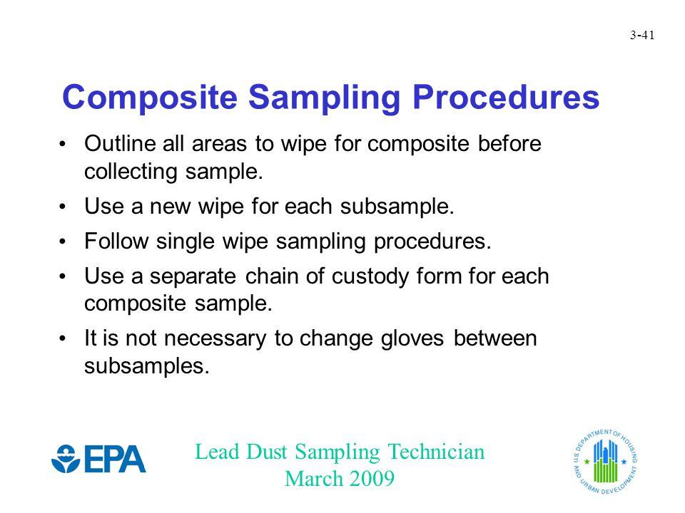 Composite Sampling Procedures