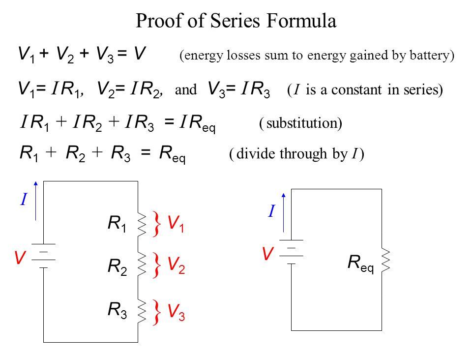 Proof of Series Formula