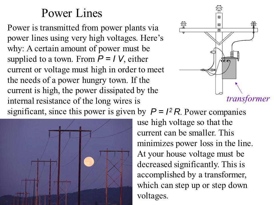 Power Lines transformer
