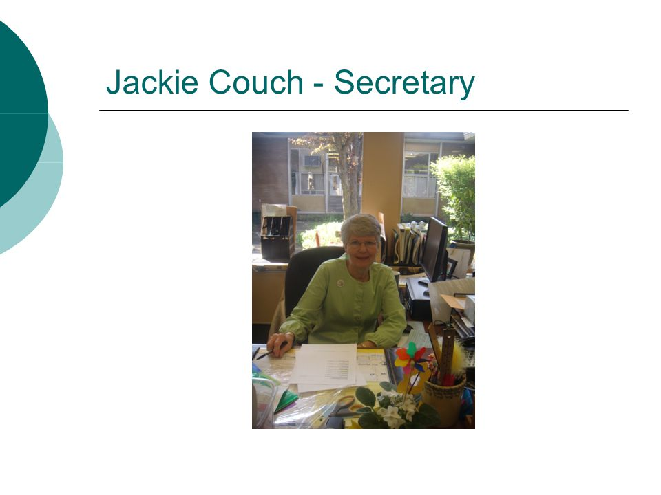 Jackie Couch - Secretary