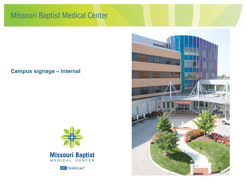 Campus signage – Internal