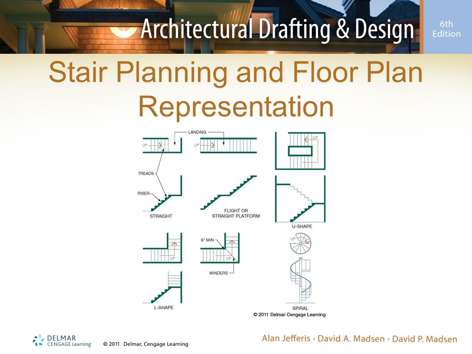 Stair Planning and Floor Plan Representation