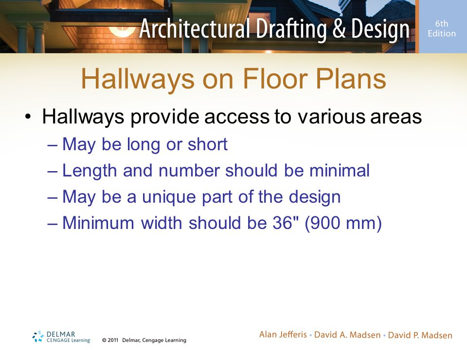 Hallways on Floor Plans