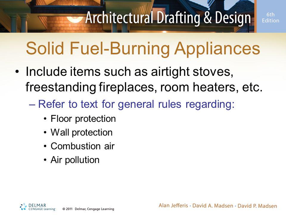Solid Fuel-Burning Appliances