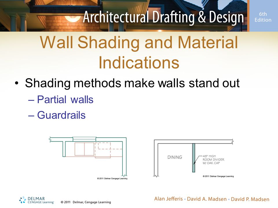 Wall Shading and Material Indications