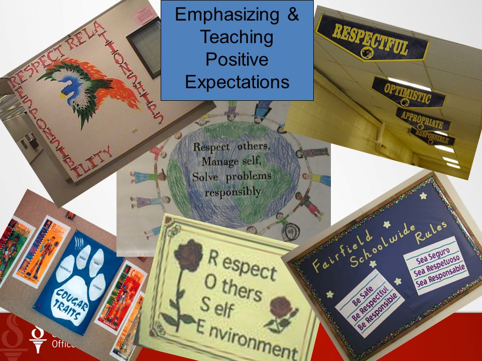 Emphasizing & Teaching Positive Expectations