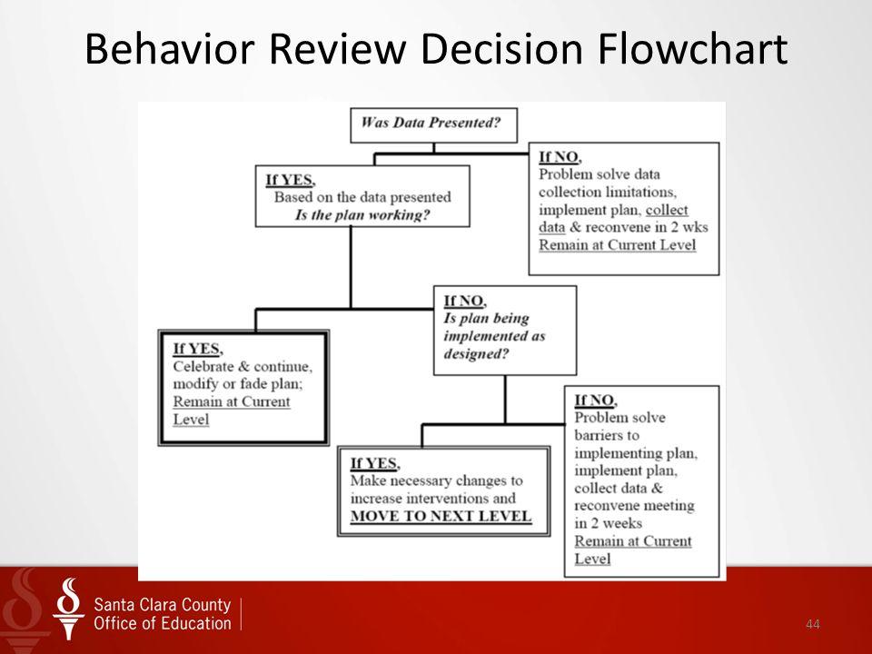 Behavior Review Decision Flowchart