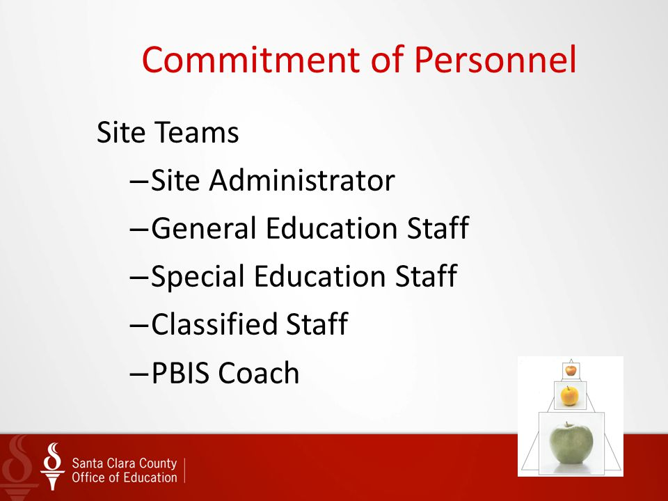 Commitment of Personnel